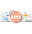 Social icon internet of things vector