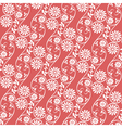 seamless background floral vector image