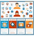 Internet security concept 2 vector image