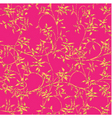 floral decorative pattern vector image vector image