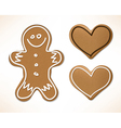 Christmas gingerbreads vector image