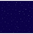 nice bright stars in the night sky vector image