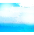 Abstract grunge blue background vector image vector image