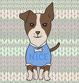Jack Russell Terrier dog vector image