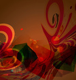 abstract shape design vector image