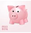 Piggy bank poster vector image