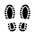 Imprint Shoes vector image