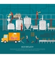 Brewery And Beer vector image