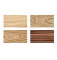 Wooden materials vector image vector image