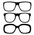 Eyeglasses set vector image