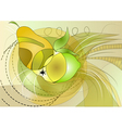 fruit abstract vector image