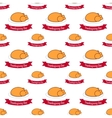 seamless pattern for Thanksgiving flat vector image
