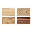 Wooden materials vector image