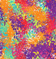 Holi seamless pattern Ornament of bright colored vector image