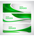 headers2 vector image