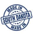 Made in south dakota vector image
