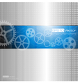 Web and mobile interface graphic template vector image vector image