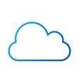 cloud computing storage file data vector image