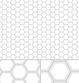 Clean HoneyComb seamless pattern vector image