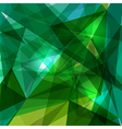 Blue and green geometric transparency vector image
