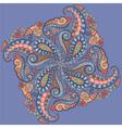 Elegant lace pattern vector image