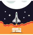 420mission to the moonVS vector image