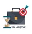 Business and management time vector image