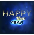 New Year lettering vector image