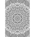 indian Mandala background vector image vector image