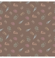 sweet sketch pattern vector image