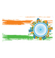 Happy Indian Republic Day Banner vector image