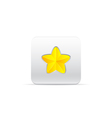 star like a flower vector image vector image
