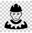 industrial builder icon vector image
