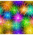 Fireworks seamless vector image