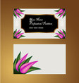 Garden-Sweet - Business Card vector image