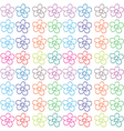 Seamless flowery design vector image vector image