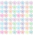 Seamless flowery design vector image