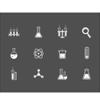 Set of science and research icons vector image vector image