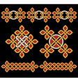 Celtic ornaments set vector image