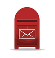 Delivery postman design vector image