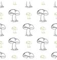 MushroomsPattern vector image