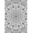 indian Mandala background vector image