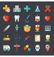 Health and medical vector image