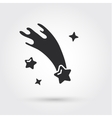 Falling stars vector image