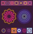Spring meditation print vector image