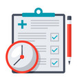 appointment request icon vector image vector image