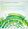 modern virtual technology concept vector image