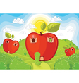 Applehome vector image