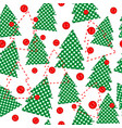 christmas template wrapping paper in patchwork vector image