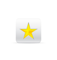 yellow star for award vector image vector image